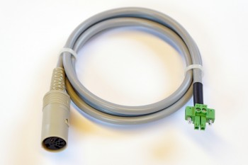 Adapterkabel für Alarmzusatz AZ-10 an Airbus P8GR-Ladegerät