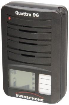 Meldeempfänger Swissphone Quattro 96 - Set - Gebrauchtgerät mit neuem Gehäuse
