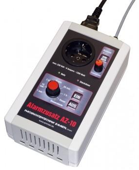 Alarmzusatz AZ-10 Timer-Schaltzusatz für alle gängigen Meldeempfänger-Ladegeräte