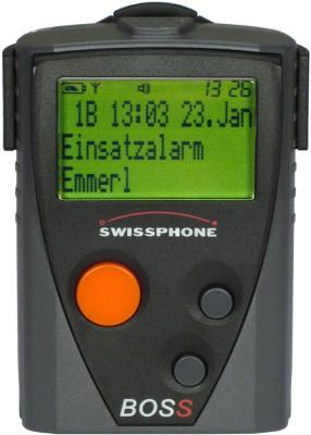 Swissphone BOSS 910 generalüberholt, Set mit LG und Ant.