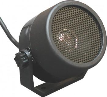 Kleinlautsprecher Peiker KL1 (4 Ohm - 5 Watt) - mit verstellbarem Haltebügel und 1m Anschlußleitung