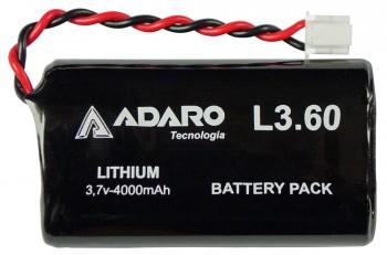 Akku für Handlampe / Knickkopfleuchte Adalit L-3000 Ex