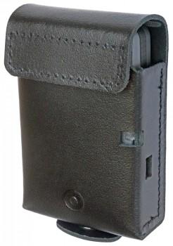 Ledertasche für AIRBUS P8GR schwarz - mit Druckknopf