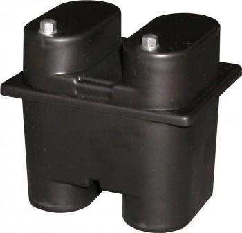 Akku für Handlampe Bosch HK 100 für Federkontakte