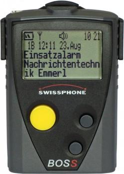Swissphone BOSS 925V (IDEA) generalüberholt, Set mit LG und Ant.