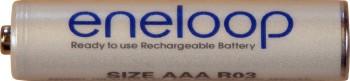 eneloop-Akku - Micro AAA - NiMH-Akku der Spitzenklasse vereint die Vorteile von Batterie und Akku! Panasonic/Sanyo