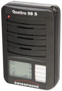 Meldeempfänger Swissphone Quattro 98S - Set - Gebrauchtgerät mit neuem Gehäuse