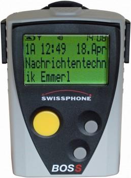 Swissphone BOSS 900 generalüberholt, Set mit LG und Ant.