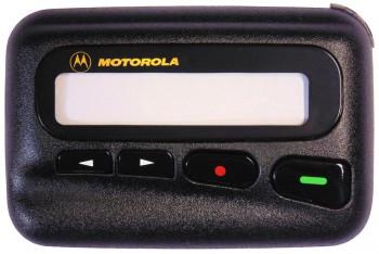 """LX2 - Gehäuseoberteil """"Motorola"""". Oberschale mit Displayscheibe, Tasten und Batteriekontakten."""