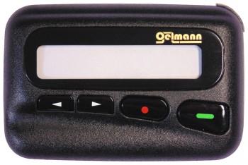"""LX2 - Gehäuseoberteil """"Oelmann"""". Oberschale mit Displayscheibe, Tasten und Batteriekontakten."""