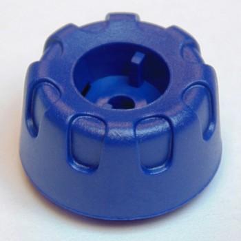 Drehknopf blau für Motorola MTP850