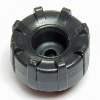 Drehknopf schwarz für Motorola MTP850