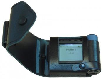 Ledertasche für Swissphone s.QUAD Typ: SG - mit Displayausschnitt