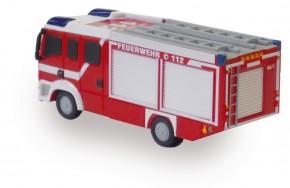 USB-Stick 16GB USB3.0 in Form eines Feuerwehrautos mit blinkenden Blaulichtern